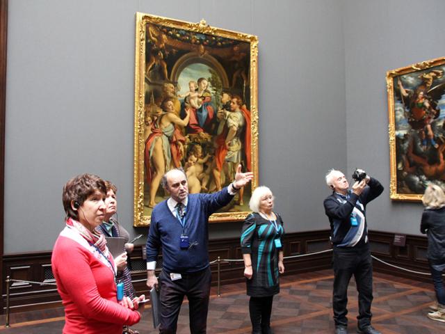 Экскурсия по Дрезденской галерее