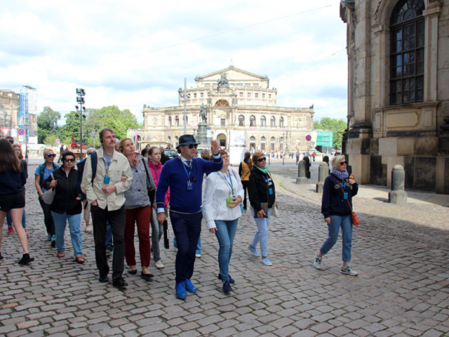 Обзорная экскурсия по Дрездену.