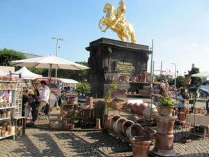 рынок керамики в Дрездене